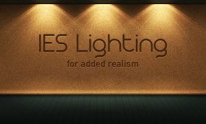 IES Lighting Effect in Photoshop. By Keith Sereby