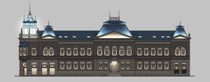 Public Library in Novi Sad. Lighting Design. By Nebojsa Radivojevic