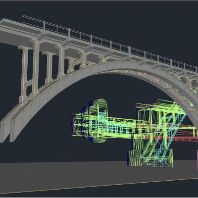 Merefa-Kherson Bridge modelling