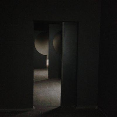 Dark room with apertures